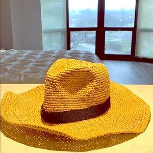 J Crew summer straw hat